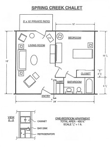 Spring Creek Chalet Floor Plan